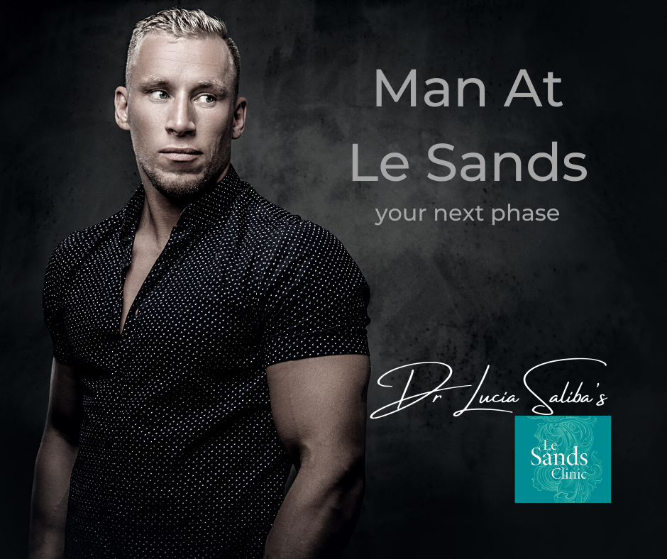 Man at Le Sands